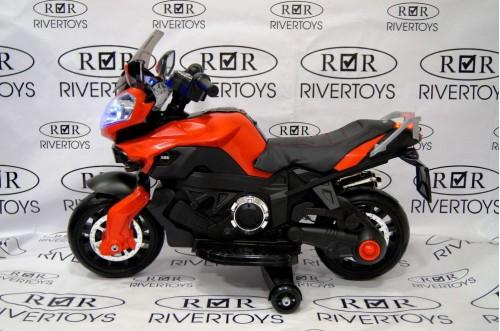 Детский электромотоцикл Е222КХ красный
