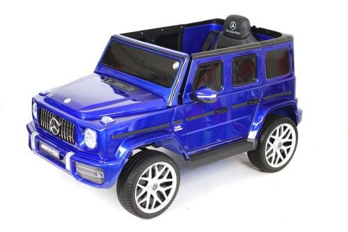 Детский электромобиль Mercedes-Benz G63 (T999TT) синий глянец
