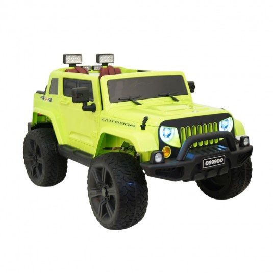 Детский электромобиль O999OO зеленый