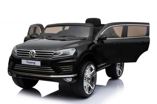 Детский электромобиль Volkswagen Touareg черный глянец