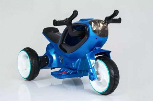 Детский электромотоцикл HC-1388 синий