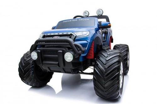Детский электромобиль Ford Monster Truck(DK-MT550) синий глянец