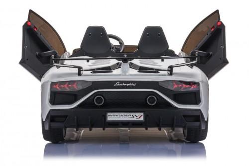 Детский электромобиль Lamborghini Aventador SVJ (A111MP) белый