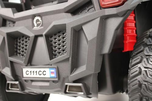 Детский электромобиль C111CC желтый
