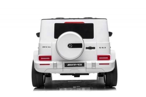 Детский электромобиль Mercedes-AMG G63 (S307) белый