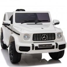 Детский электромобиль Mercedes-AMG G63 (O777OO) белый