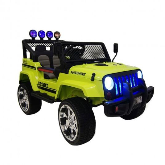 Детский электромобиль T008TT (4х4)  зеленый