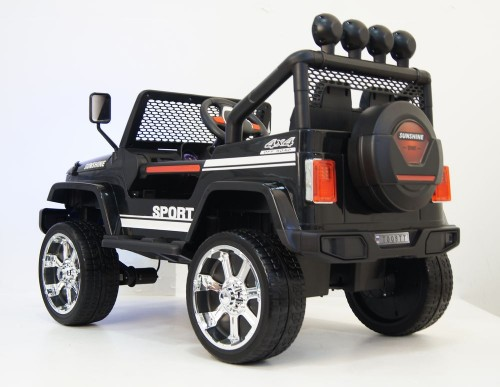 Детский электромобиль T008TT (4х4)  черный