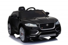 Детский электромобиль Jaguar (LS-818) черный глянец