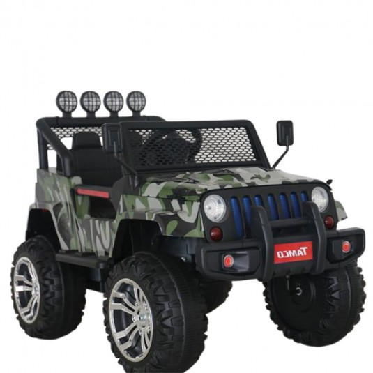 Детский электромобиль T008TT (4х4)  камуфляж