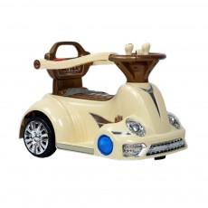 Детский электромобиль-ходунок 1688 бежевый
