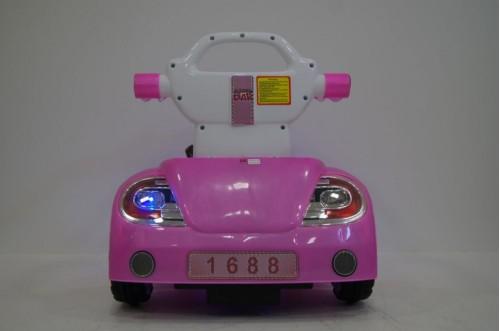 Детский электромобиль-ходунок 1688 голубой
