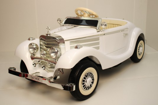 Детский электромобиль Mercedes-Benz М111ММ белый
