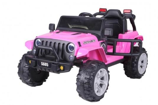 Детский электромобиль T222TT розовый