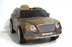 Детский электромобиль Bentley (JJ2158) коричневый глянец