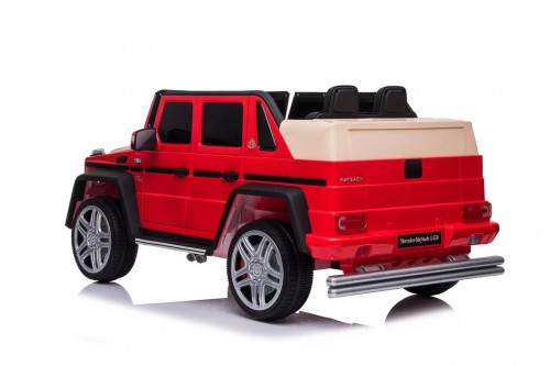 Детский электромобиль Mercedes-Benz Maybach G650 (T101TT) красный глянец