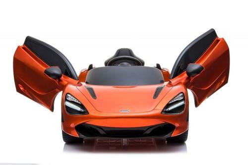 Детский электромобиль McLaren 720S оранжевый глянец