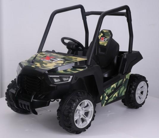 Детский электромобиль Т333ТТ камуфляж