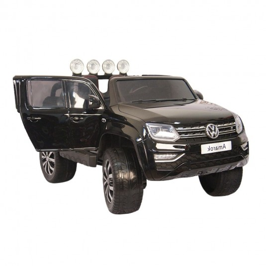 Детский электромобиль Volkswagen Amarok черный глянец