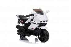 Детский электромотоцикл S602 белый