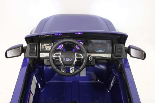 Детский электромобиль Ford Ranger NEW(DK-F650) синий глянец