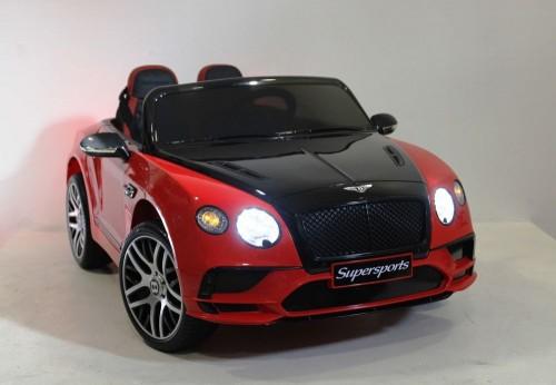 Детский электромобиль Bentley Supersport (JE1155) красно-черный