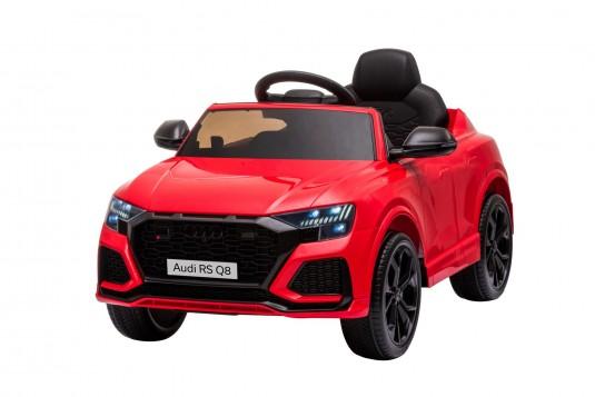 Детский электромобиль Audi RS Q8 (HL518) красный