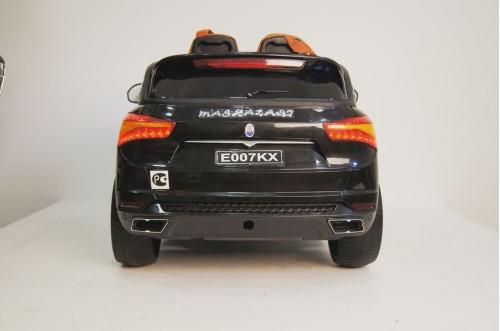 Детский электромобиль E007KX черный глянец