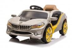 Детский электромобиль O 002 OO серебристый