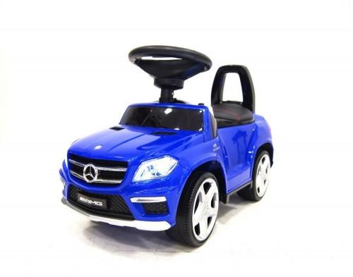Детский толокар Mercedes A888AA синий