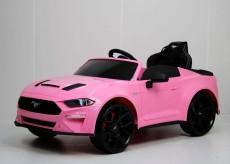 Детский электромобиль Ford Mustang GT (A222MP) розовый