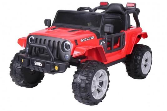Детский электромобиль T222TT красный