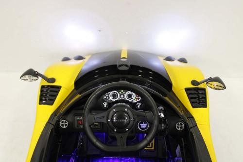 Детский электромобиль Pagani (А009АА) желтый