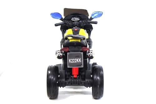 Детский трицикл К222КК желтый