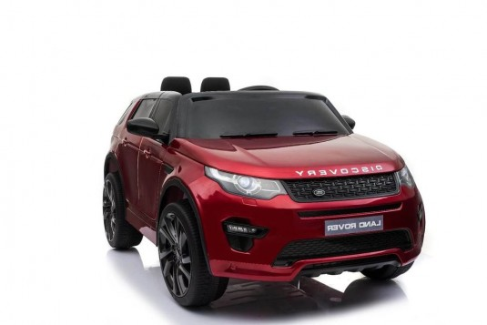 Детский электромобиль Land Rover o111oo вишневый глянец