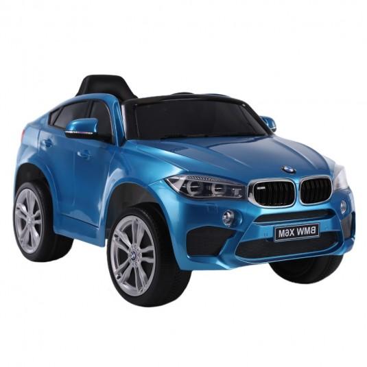 Детский электромобиль BMW X6M (JJ2199) синий глянец