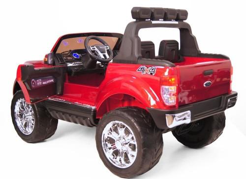 Детский электромобиль Ford Ranger NEW(DK-F650) вишневый глянец