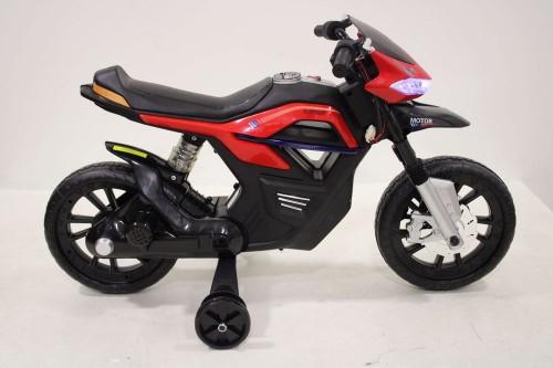 Детский мотоцикл RALLY JT5158 красный