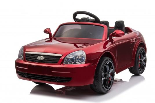 Детский электромобиль O095OO вишневый глянец