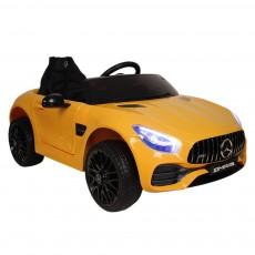 Детский электромобиль О008ОО Mercedes-Benz GT желтый