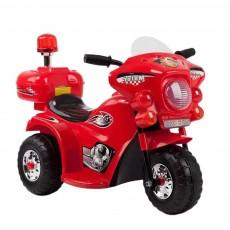 Детский электромотоцикл 998 красный