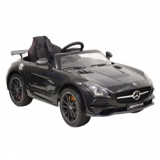 Детский электромобиль А333АА черный VIP-CARBON