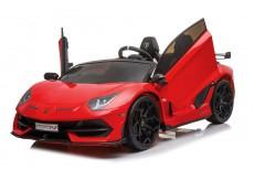 Детский электромобиль Lamborghini Aventador SVJ (A111MP) красный