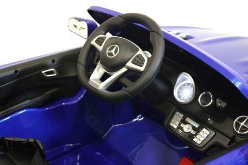 Детский электромобиль Mercedes-Benz SL500 синий