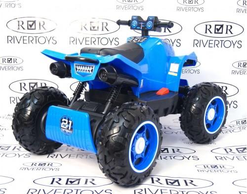 Детский электроквадроцикл T777TT синий