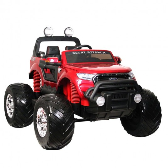 Детский электромобиль Ford Monster Truck(DK-MT550) вишневый глянец
