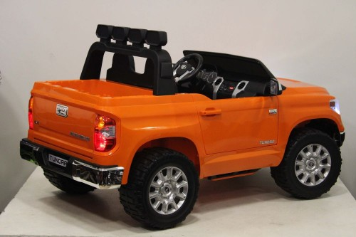 Детский электромобиль Toyota Tundra (JJ2255) оранжевый