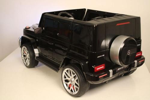 Детский электромобиль AMG G63 4WD (S307) черный глянец