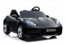 Детский электромобиль Т911ТТ черный глянец