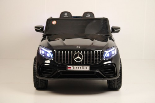 Детский электромобиль Mercedes-Benz GLC63 S 4WD (H111HH) черный глянец